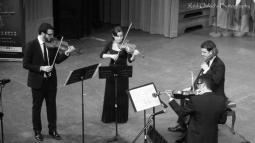 El cuarteto Francisco de Goya en el Teatro Nacional de Argel, diciembre de 2012. (Foto: Red Oukid)